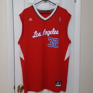 Adidas Los Angeles Clippers jersey